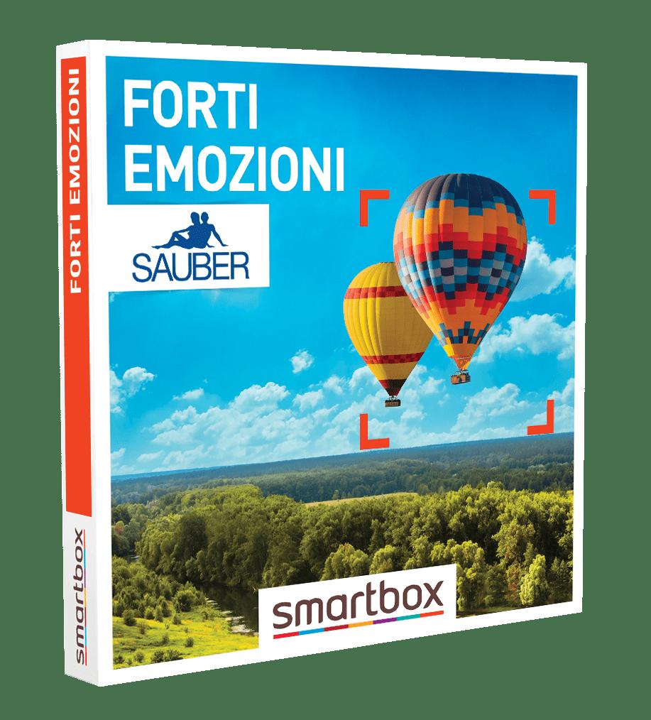Sauber forti emozioni vinci uno smartbox