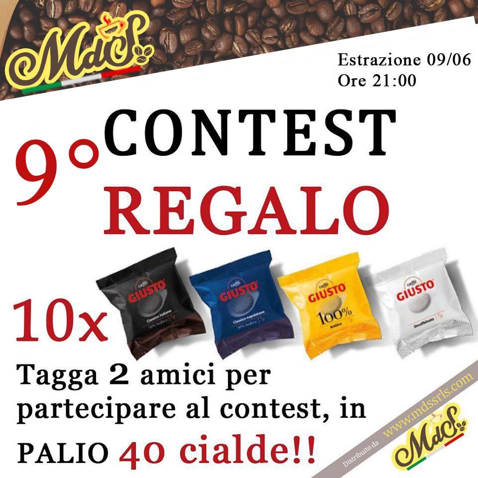 nuovo contest in palio 40 cialde di caffè