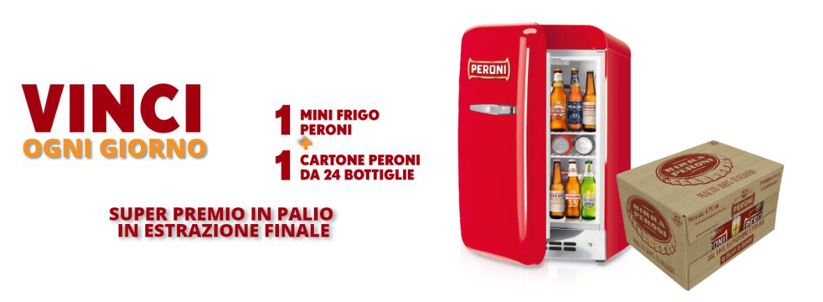 """Concorso Peroni """"Terzo Tempo"""": vinci Mini Frigo, forniture, Tv ed altri premi!"""