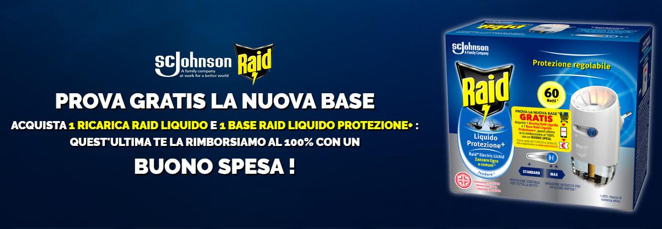 Prova Gratis la nuova base Raid
