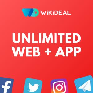 Unlimited Web + App